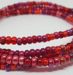 Red-Berry Waist Beads
