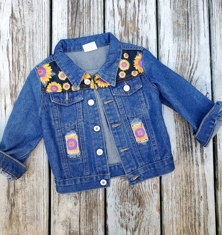 Sunflower Jean Jacket