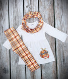 Plaid Thankful Set