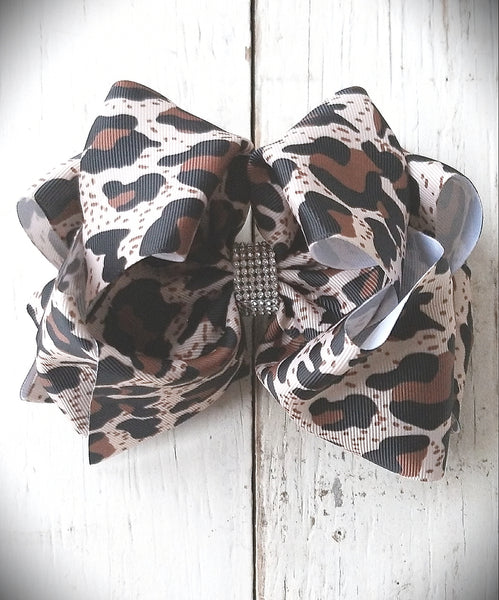 Cheetah Jojo Bow