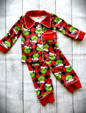 Grinch Pajamas