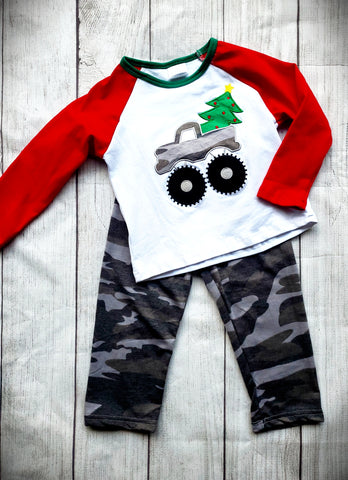 Boys Camo Christmas Set