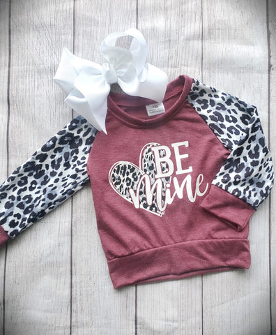 Be Mine Leopard Top