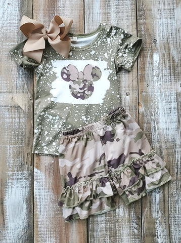 Camo Minnie Set