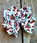 Christmas Camper Bow