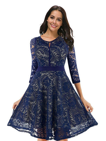 products/Lace_Floral_Cocktail_Dress_Vintage_Party_Dress_6.jpg