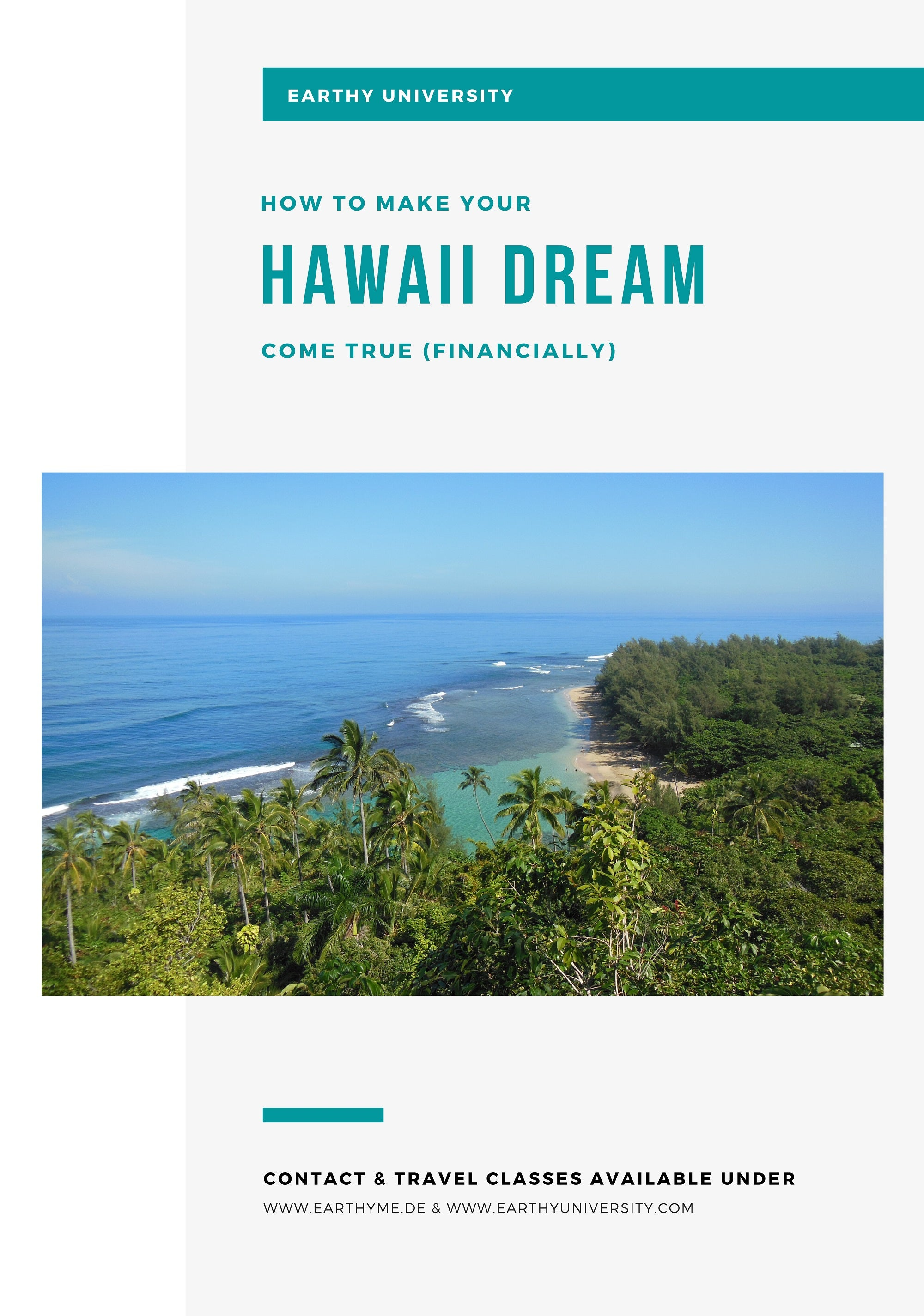 A simple guide on how to afford and plan the costs for a Hawaii vacation