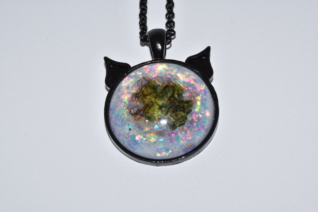 Unicorn Tears Bud Kitten Necklace - Bud Kitten Jewelry
