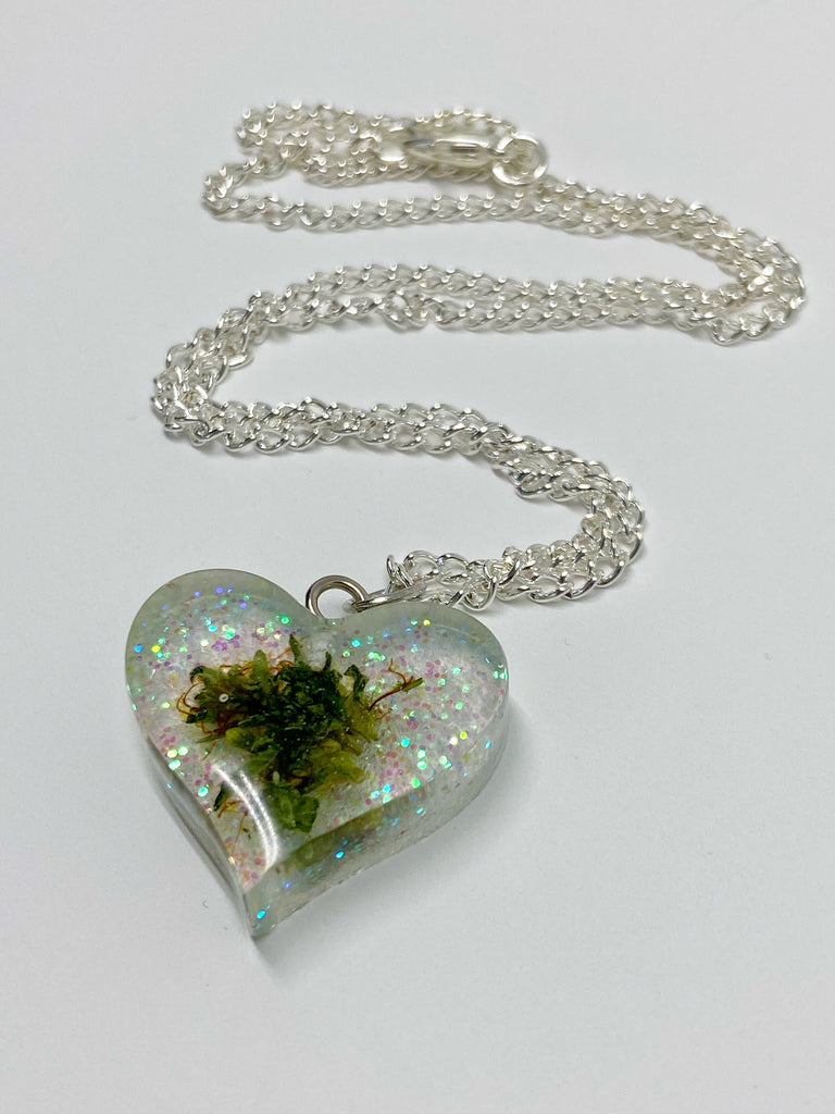 Blue Love Bud Necklace