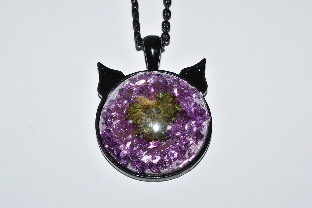 Grind Bud Kitten Necklace
