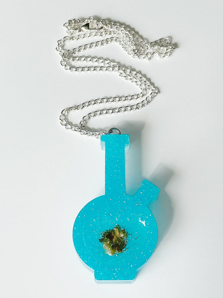 Flower Child Bong Necklace