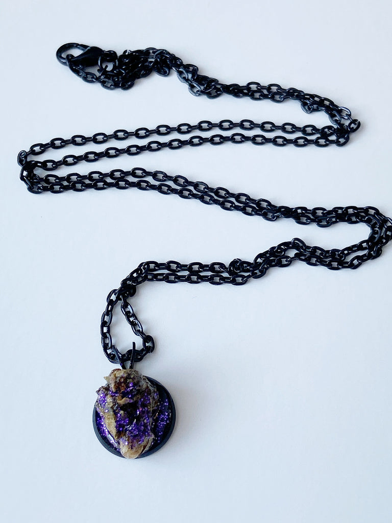 Grape Baby Bud Necklace