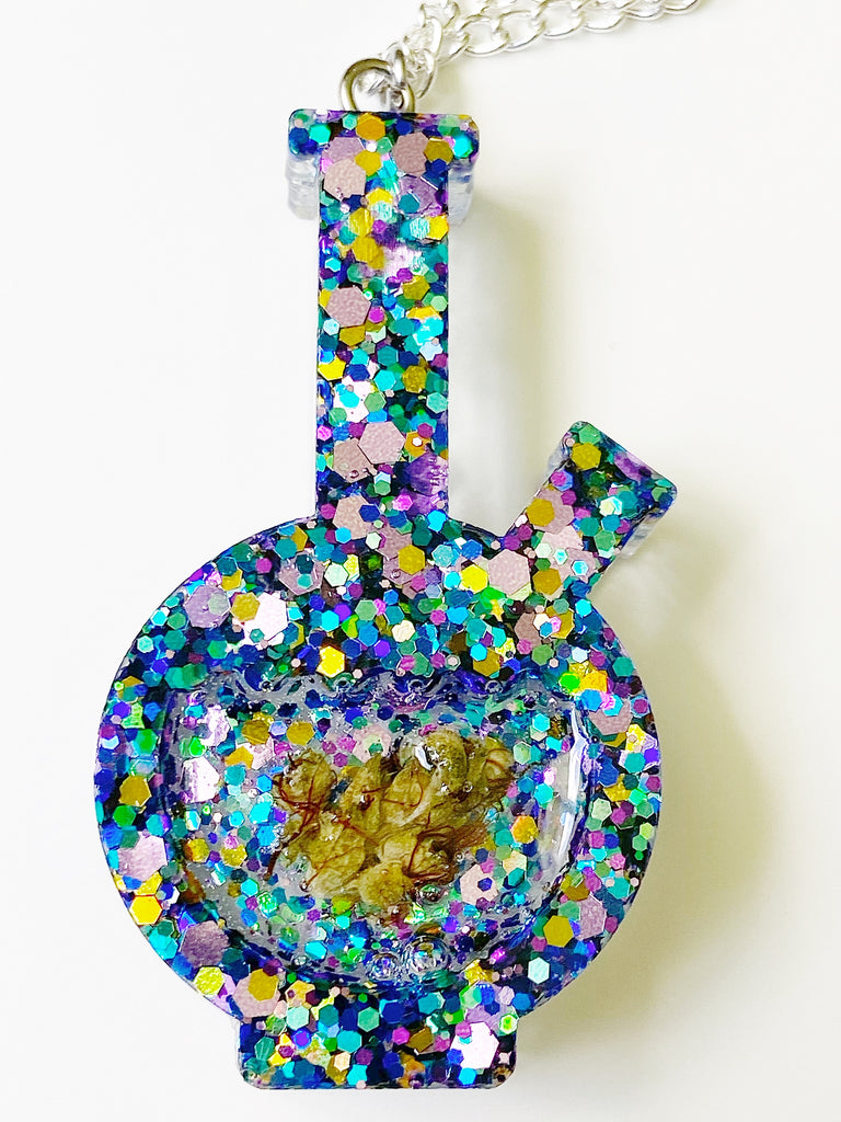 Psychedelic Bong Necklace