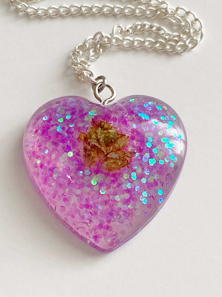 Jellybean Heart Necklace
