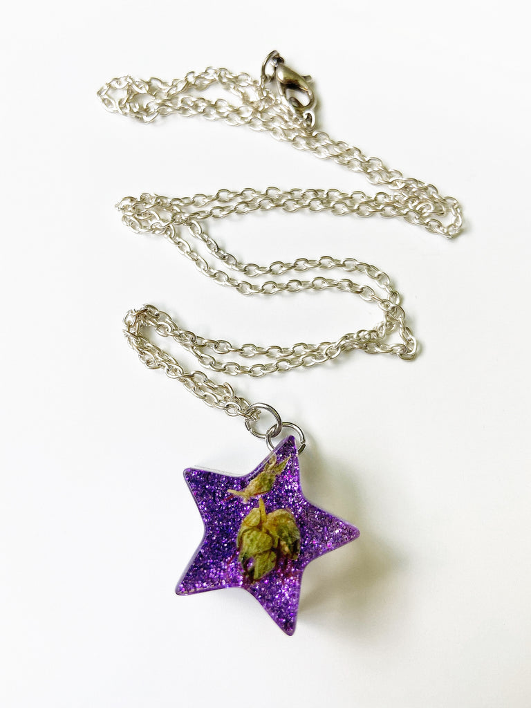 Purple Kush Star Necklace