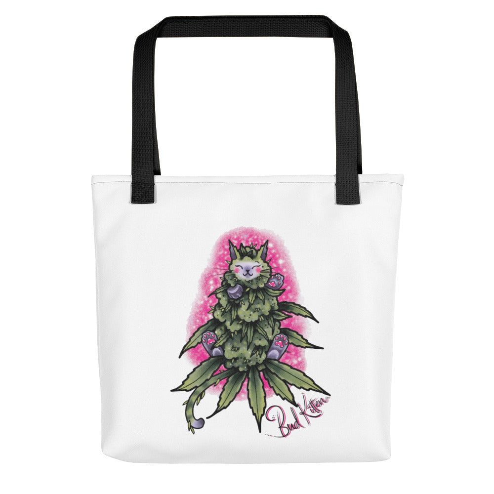 Bud Kitten Tote Bag - Bud Kitten Jewelry