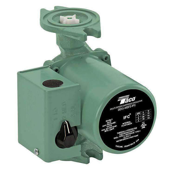 Taco 0015-MSF3-IFC 3-Speed Cast Iron Circulator - wholesalewaterheater