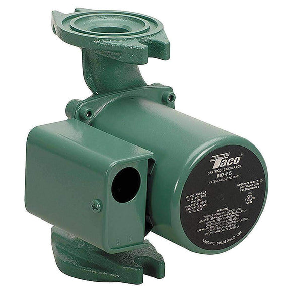 Taco 007-IFC 1/25 HP Circulator Pump Cast Iron Flange - wholesalewaterheater