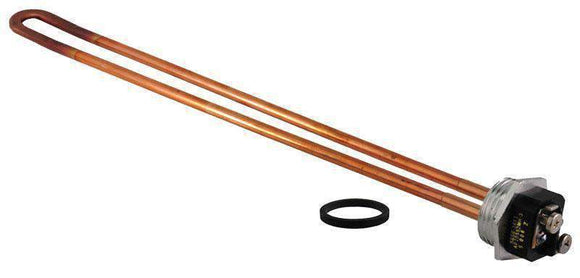 RHEEM SP10552MH Electric Water Heater Element - 240V/4500W Copper Resistored HWD - 1 in. Screw-in