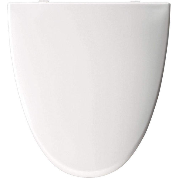 Church Bemis EL270-000 WHITE Toilet Seat for American Standard for Elisse Toilet - wholesalewaterheater
