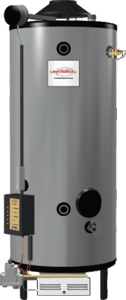 RHEEM G91-200 Universal 91 Gallon Commercial 199,900 BTU Natural Gas Water Heater