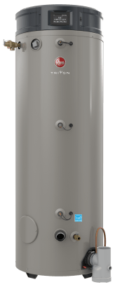 RHEEM GHE100SS-200A Triton SS Premium 100 Gallon Intelligent High Efficiency Commercial Gas Water Heater - wholesalewaterheater
