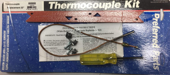 "SP 20129 22"" Thermocouple Kit with Gasket - wholesalewaterheater"
