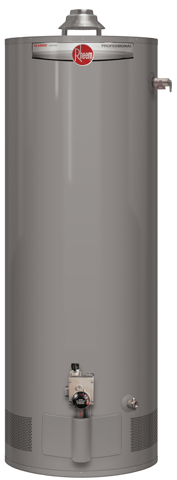 RHEEM PROG40S-38N RH62 Professional Classic 40 Gallon Short 38,000 BTU Natural Gas Residential Water Heater