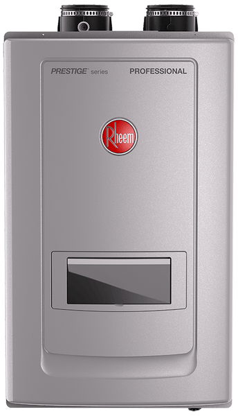 Rheem RTGH-RH11DVLN High Efficiency 11.0 GPM Indoor Natural Gas Tankless Water Heater with Recirculation Pump - wholesalewaterheater