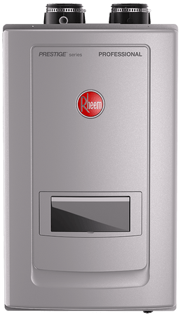 Rheem RTGH-RH10DVLN High Efficiency 9.9 GPM Indoor Natural Gas Tankless Water Heater with Recirculation Pump - wholesalewaterheater