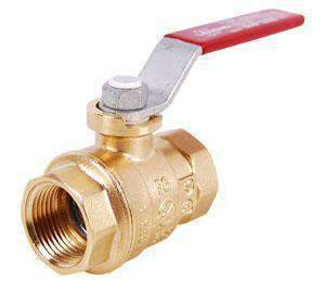 "1"" IP Brass Full Port Ball Valve"