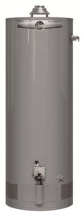 RHEEM PRO+G40S-40N RH67 PD Powered Damper 40 Gallon Short 40,000 Natural Gas Water Heater