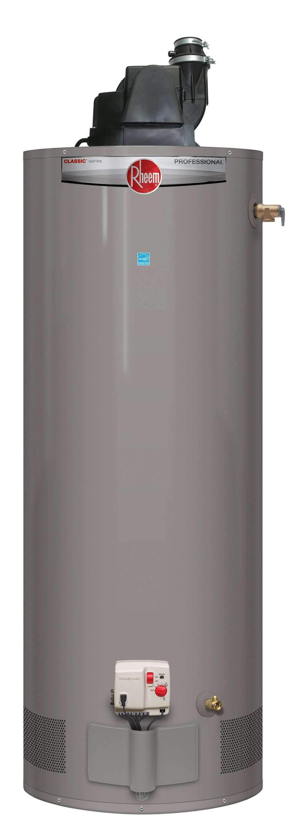 RHEEM PROG40-40N RH67 PV Professional Classic 40 Gallon Tall 40,000 BTU Natural Gas Residential Power Vent Water Heater <font color=red>(DETROIT, MI AREA LOCAL PICK-UP ONLY)</font> - wholesalewaterheater