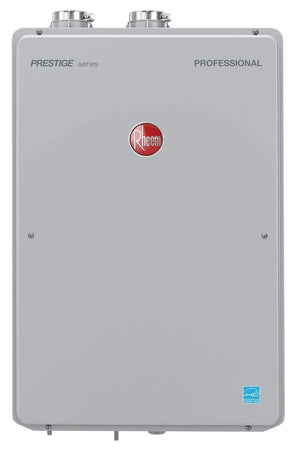 RHEEM RTGH-95DVLN-2 High Efficiency 9.5 GPM Indoor Natural Gas EcoNet Enabled Tankless Water Heater - wholesalewaterheater