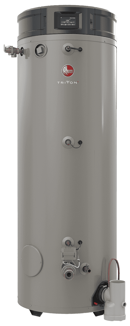 RHEEM GHE100SU-200 Triton 100 Gallon Smart Universal 199,900 BTU Commercial Gas Water Heater