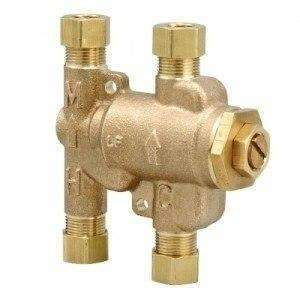 Watts 0204141 USG-B 3/8 Under Sink Guardian Thermostatic Mixing Valve Bronze - wholesalewaterheater
