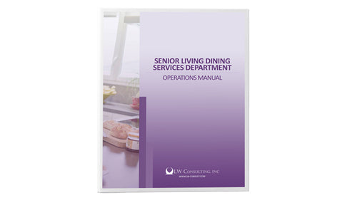 Senior Living Dining Services Department Operations Manual