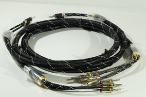 KM-R-EKK Bi-Wire  2-4  (Black/White)