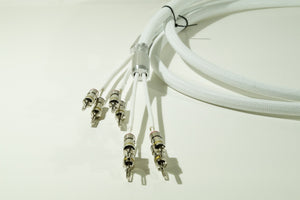 KM-R15-EKK 2-4 Bi-Wire (White)