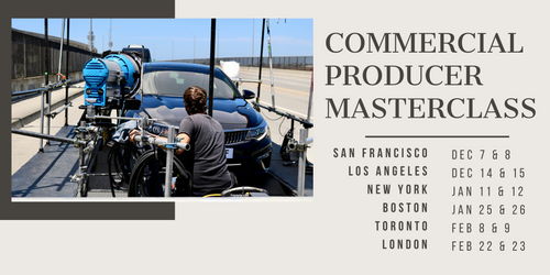 Commercial Producer Masterclass