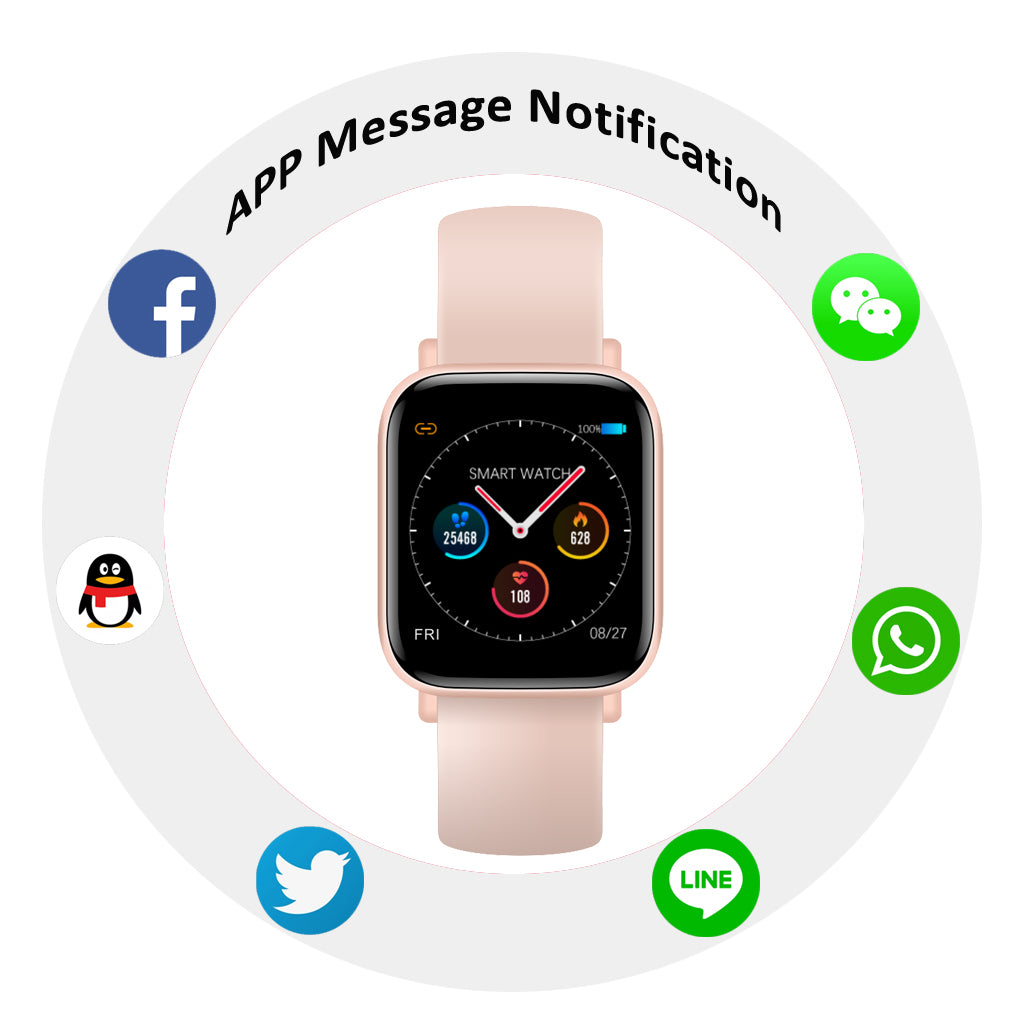 Q10 Smart Watch Ip67 Waterproof Slim Metal Body Milanese Strap Replaceable Heart Rate Monitor Blood Pressure Smartwatch Men