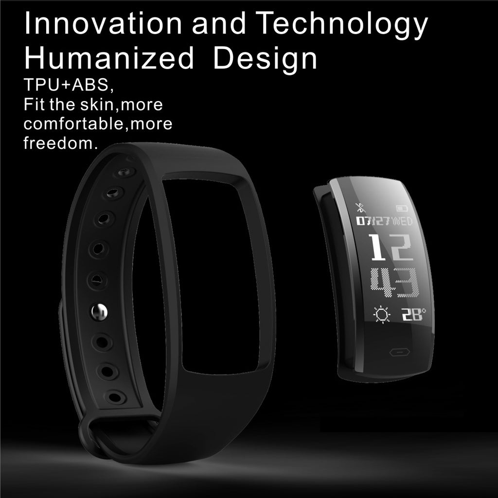 Fitness-Tracker-Band-IP67-Waterproof-Heart-Rate-Monitor-QS90