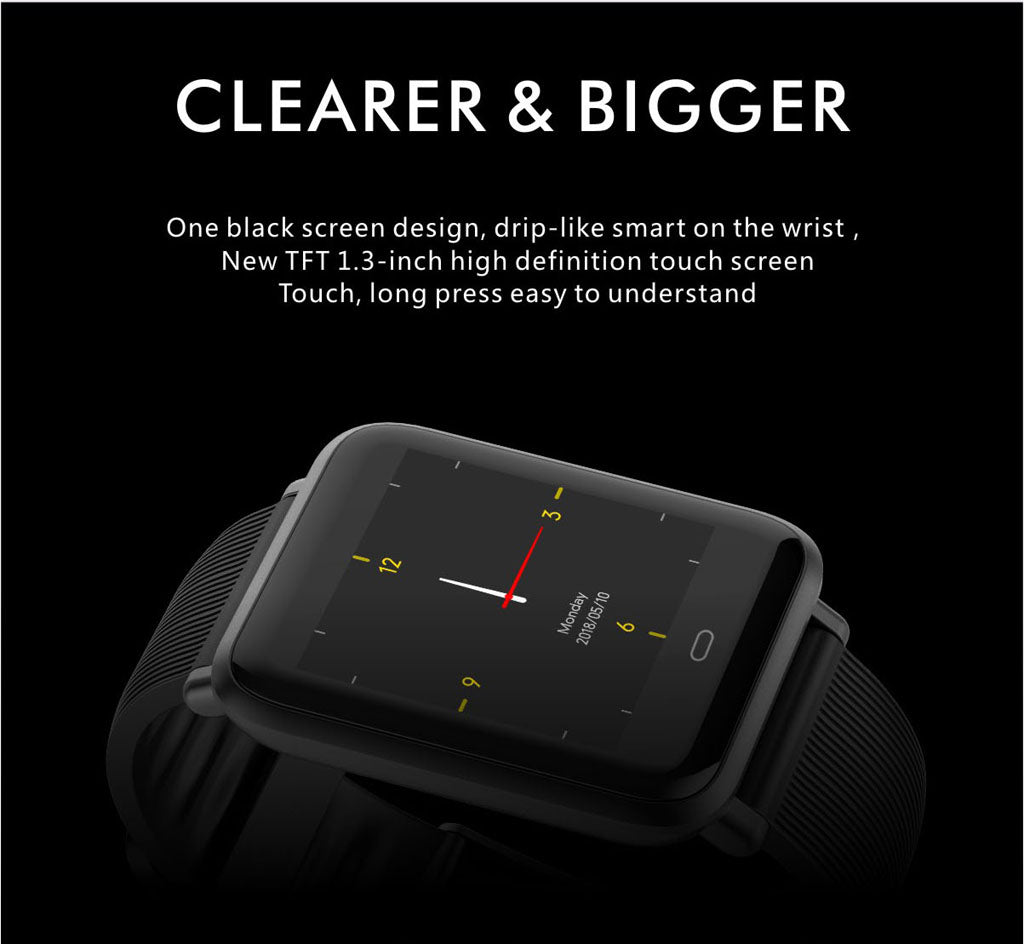 Q9 Fitness tracker watch 1.3 TFT Colorful Screen
