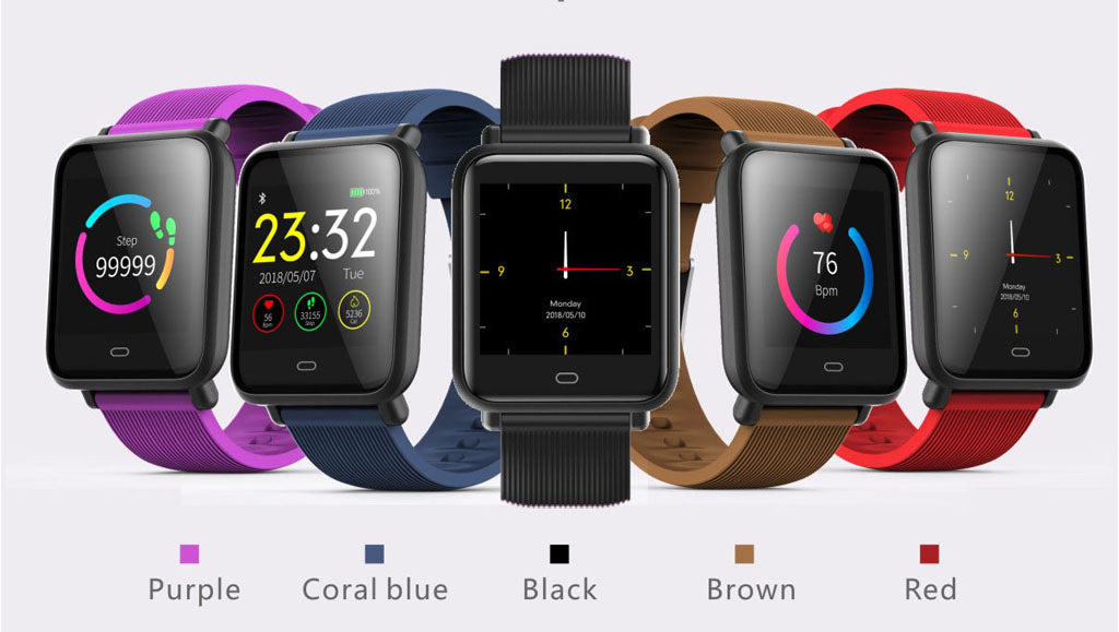 Q9 Fitness tracker watch colors