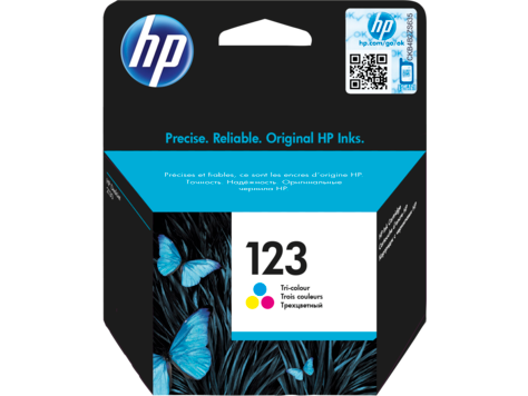HP 123 TRI-COLOR CARTRIDGE