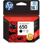 HP 650 BLACK CARTRIDGE