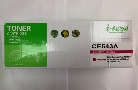 HP Premium Quality Compatible CF543A/203A Color Toner(MAGENTA)