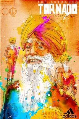 Fauja Singh | Inkquisitive Art
