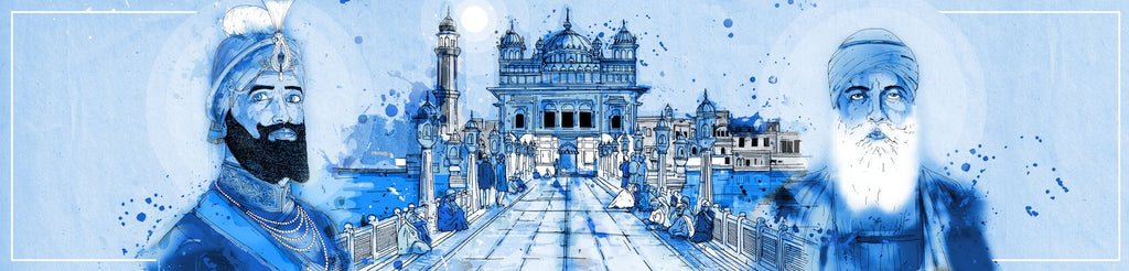 Fourth Entrance Blue | Inkquisitive Art