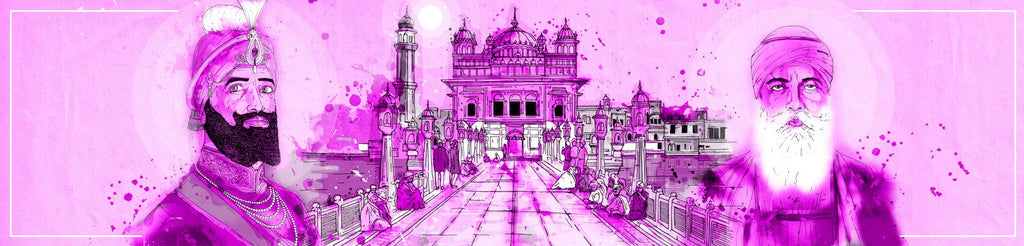Fourth Entrance Purple | Inkquisitive Art